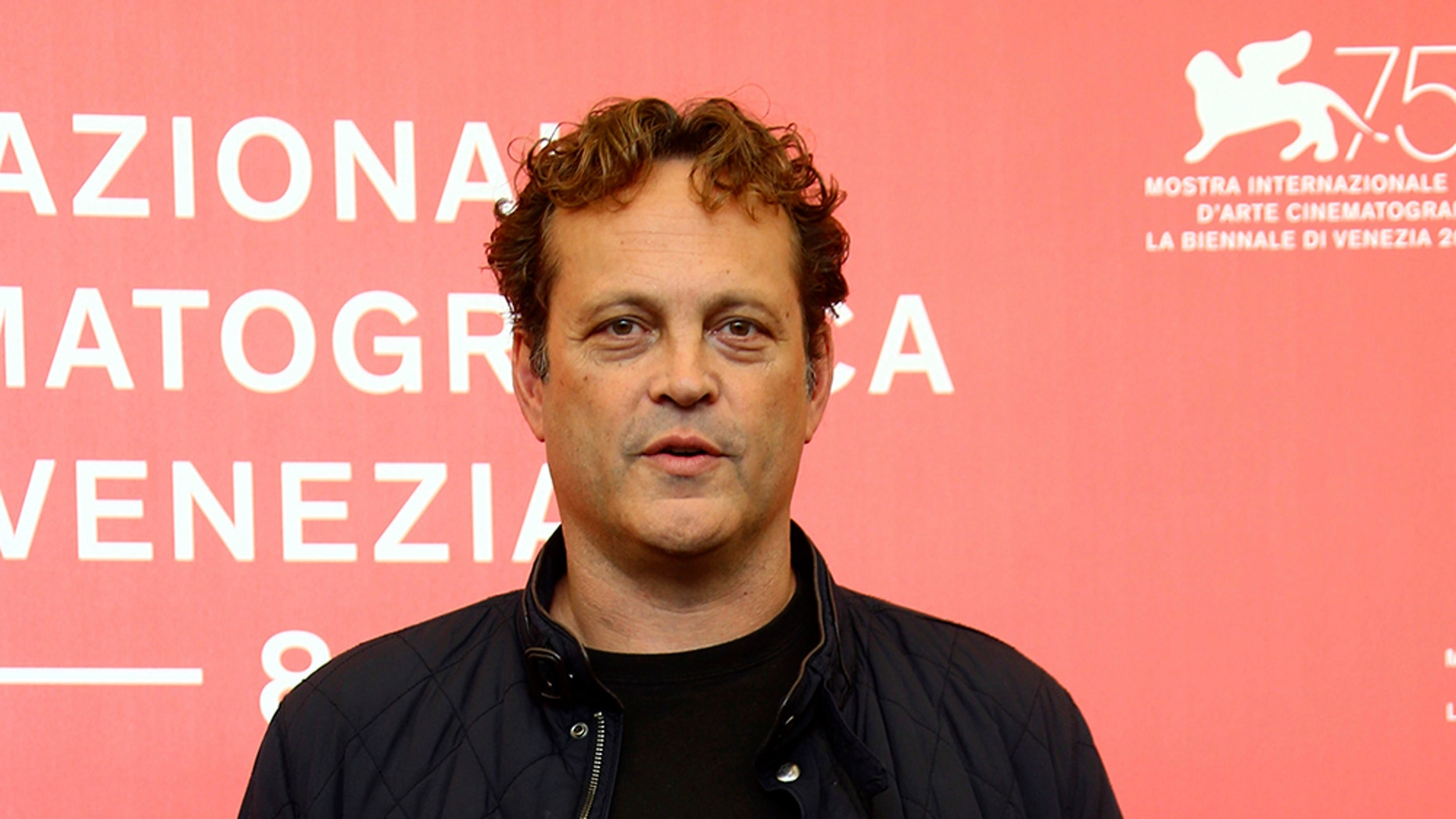 "FILE - This Sept. 3, 2018 file photo shows actor Vince Vaughn at the photo call for the film ""Dragged Across Concrete"" at the 75th edition of the Venice Film Festival in Venice, Italy. Vaughn has been charged with drunken driving."
