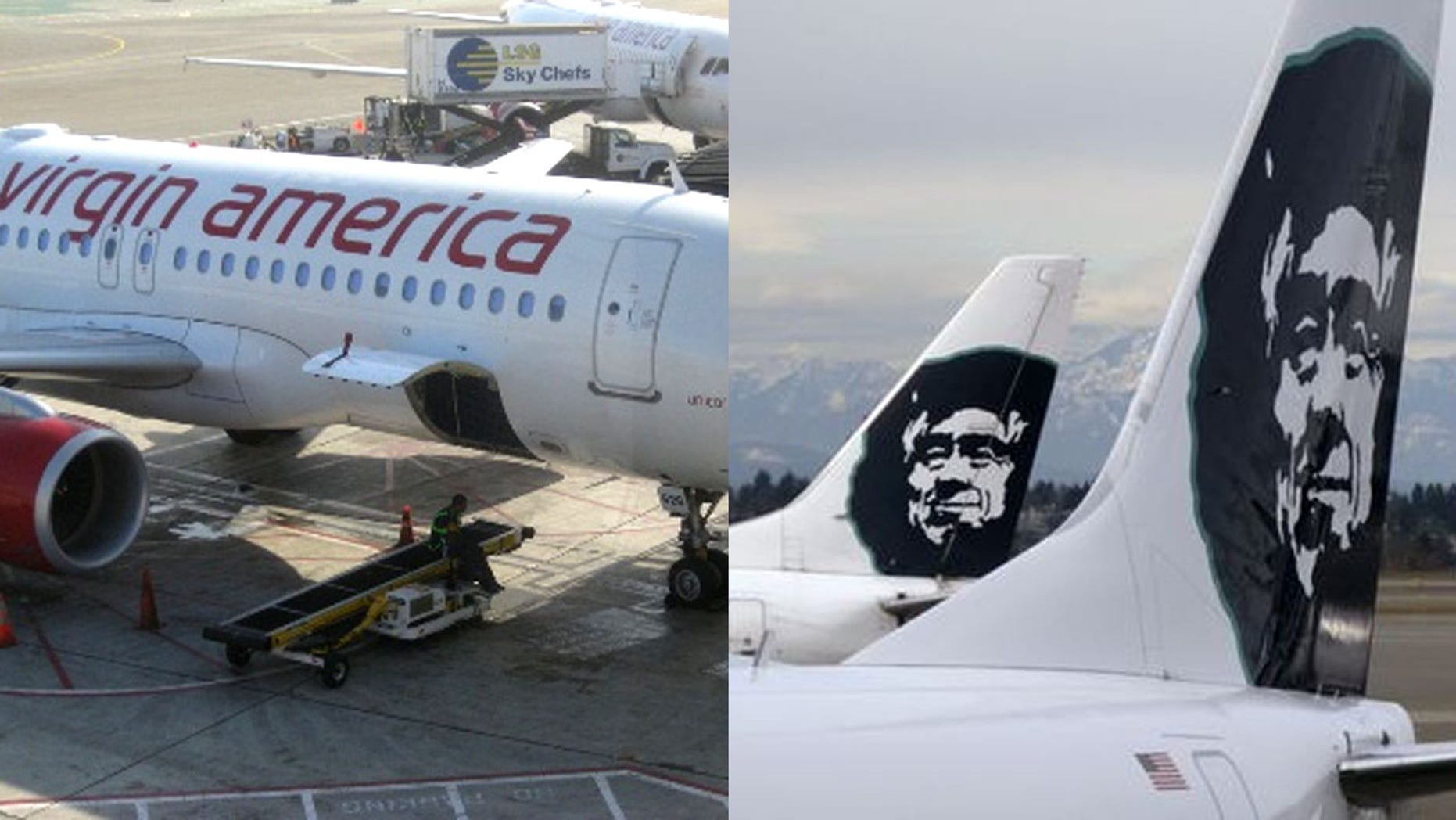 Alaska Air is buying Virgin American in a deal that would unite two domestic carriers that are among the 10 largest in the United States, b