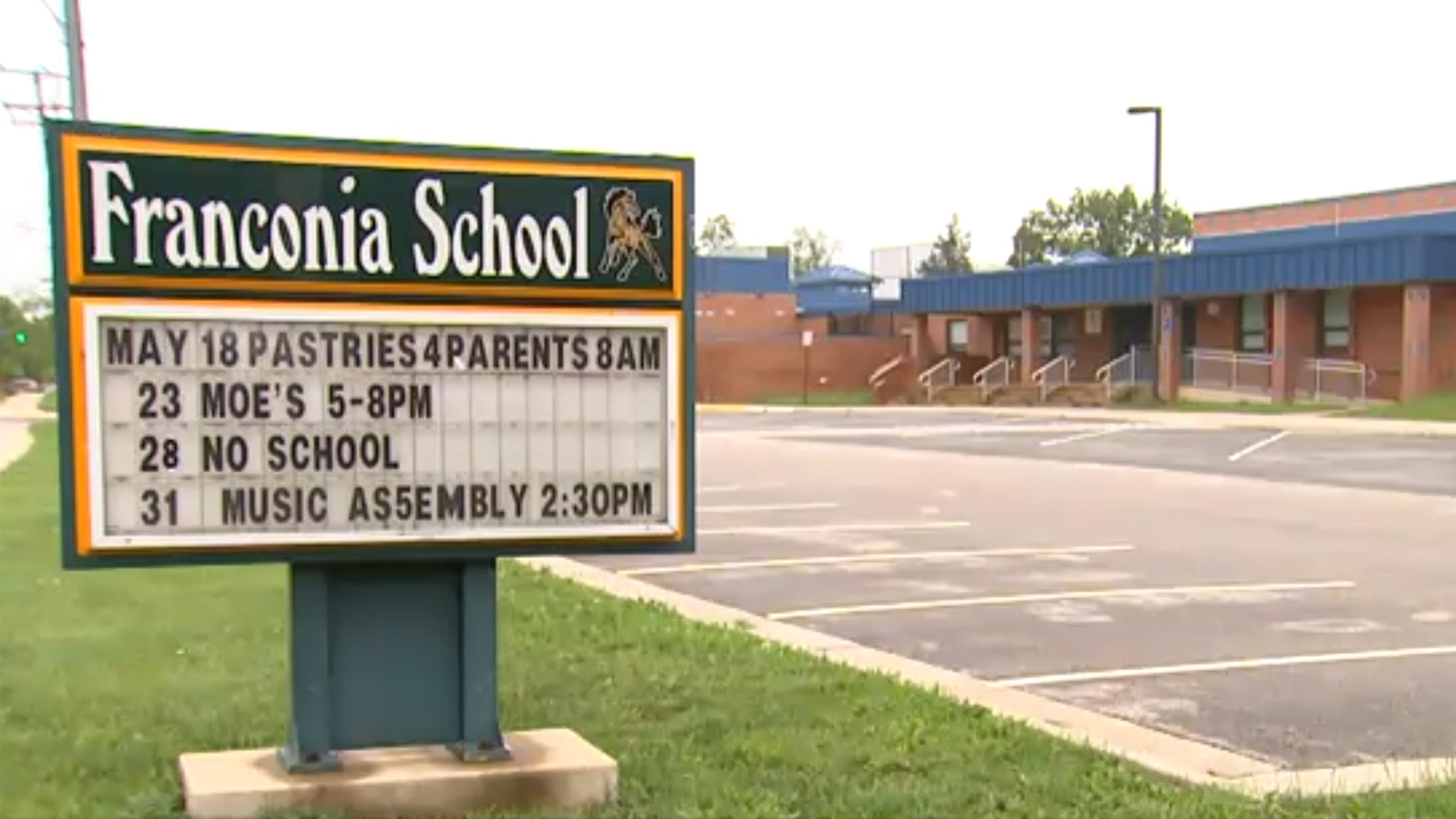 A 9-year-old boy died after he was crushed by a motorized room partition at Franconia Elementary School in Alexandria, Va. on Friday.