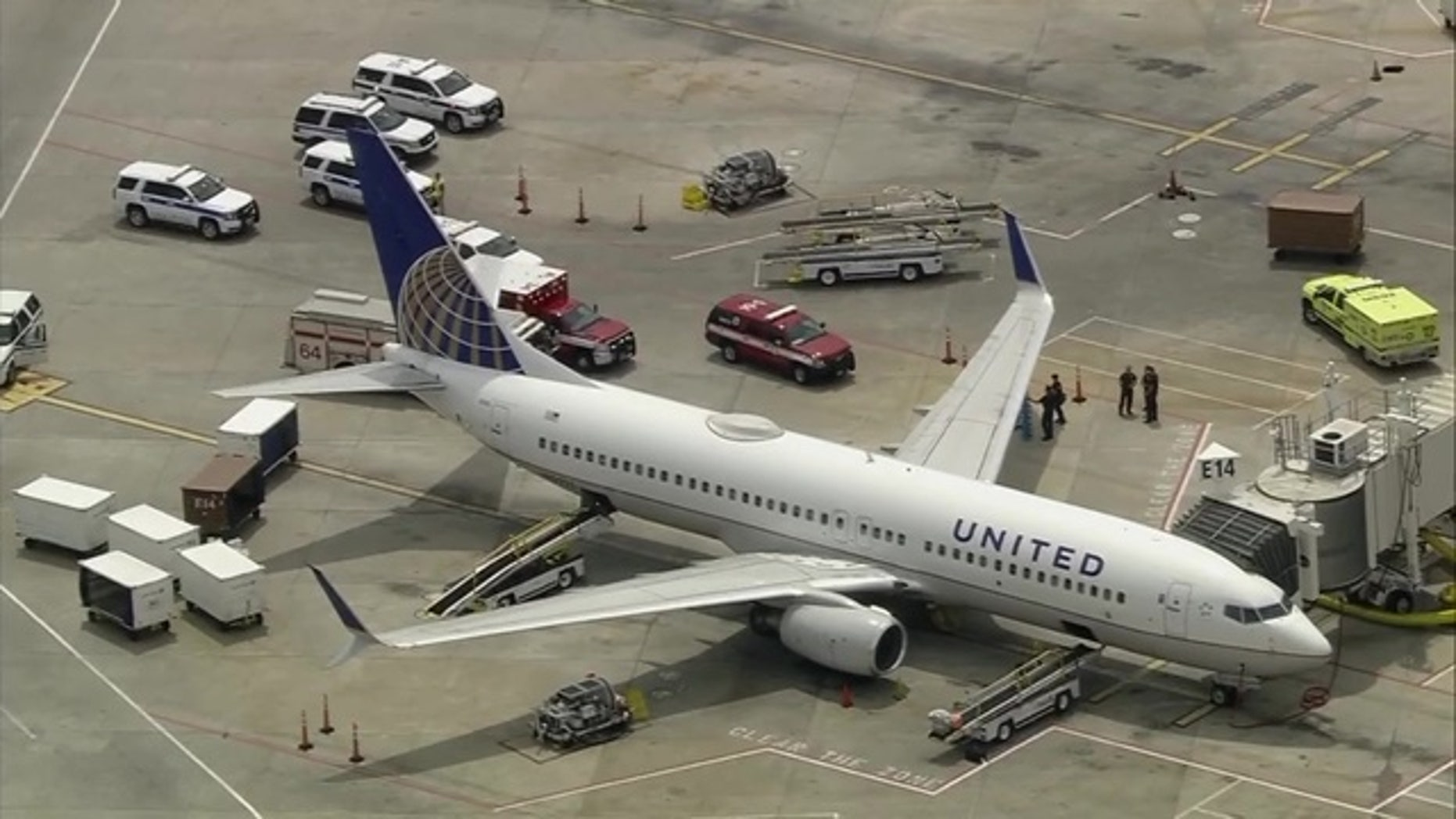 United passengers were injured after hitting severe turbulence over Mexico.