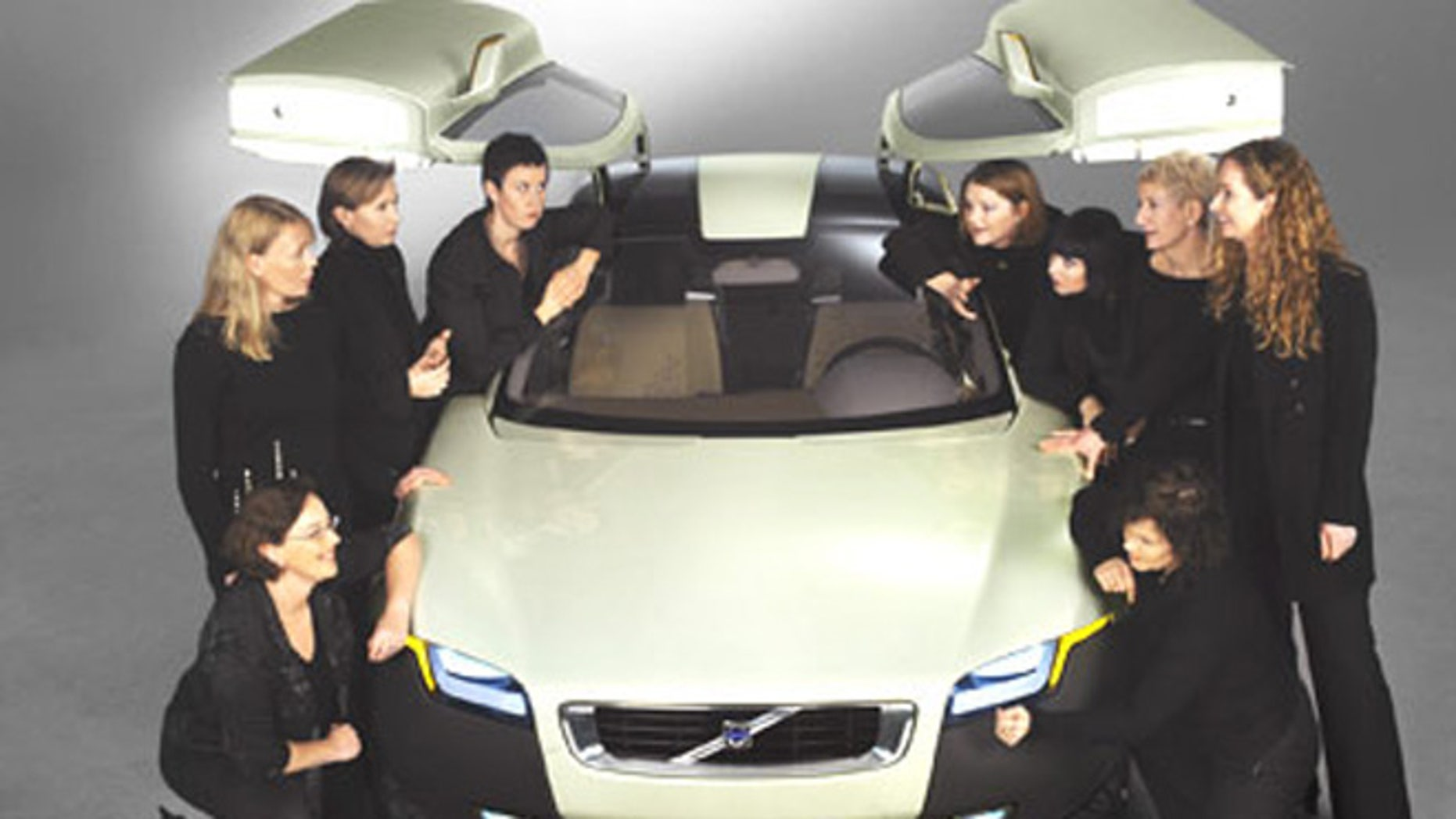 The Volvo YCC (Your Car Concept) was designed by women, for women.