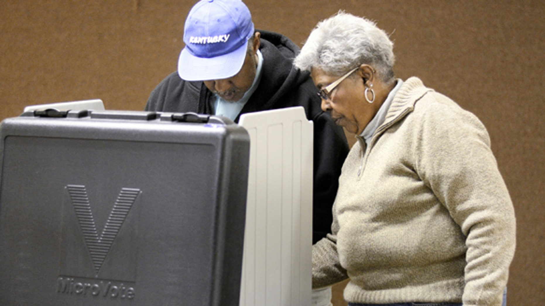 Experts say voting machines could be susceptible to hacking. (AP)