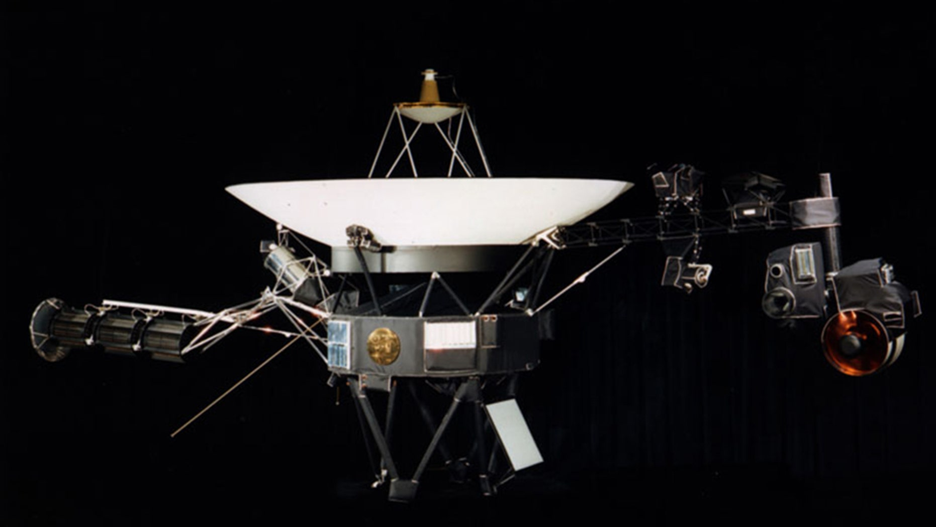 Copies of the Golden Record, sent journeying into deep space on the sides of the Voyager 1 and Voyager 2 probes in 1977, carries the sounds and music of Earth as well as a series of images to help characterize it.