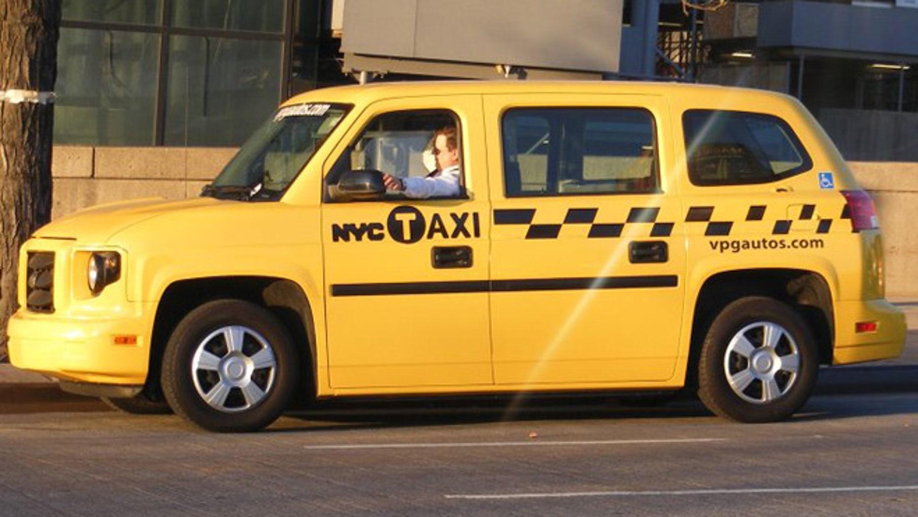 MV-1 wheelchair-accessible taxi
