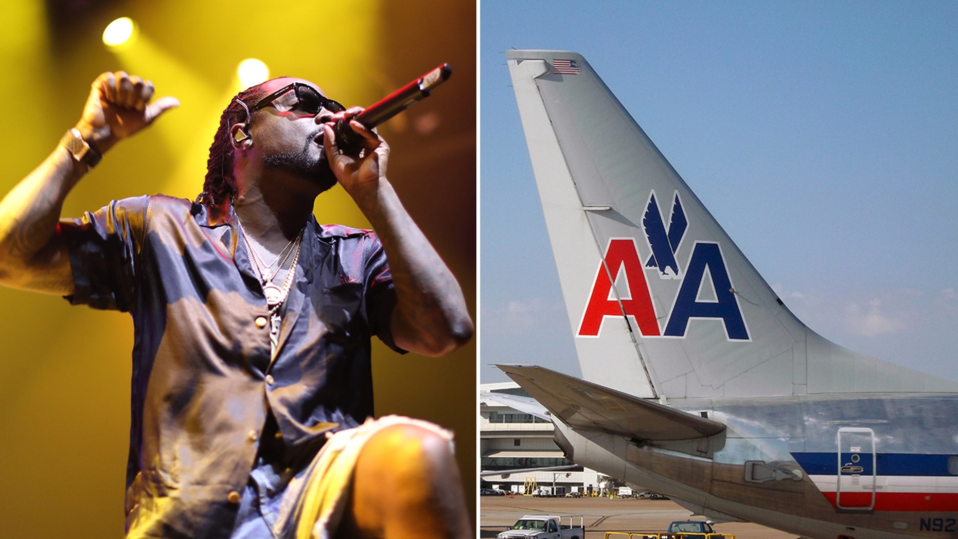 """Wale accused American Airlines of being """"racist"""" after two employees allegedly told him he didn't belong in first class."""
