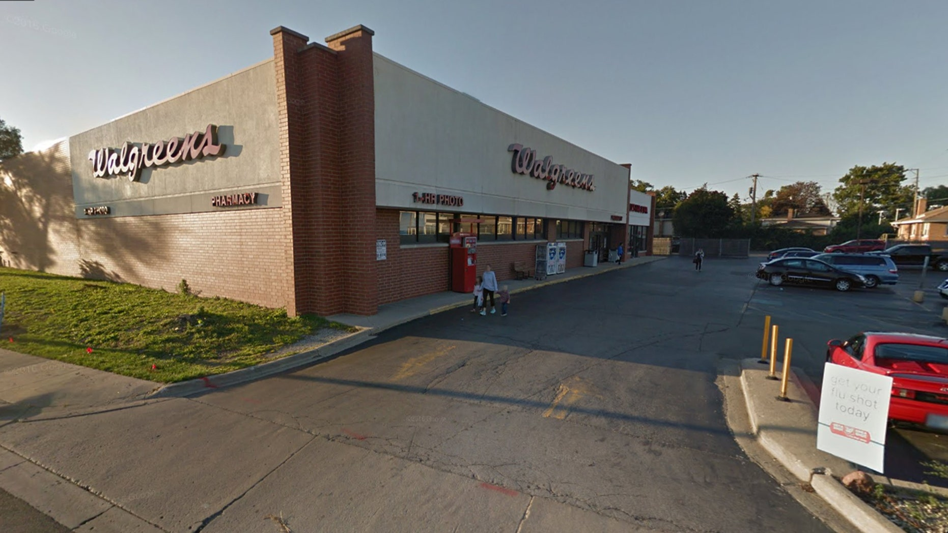 A hidden camera was found in the women's bathroom of this Illinois Walgreen's, police said.