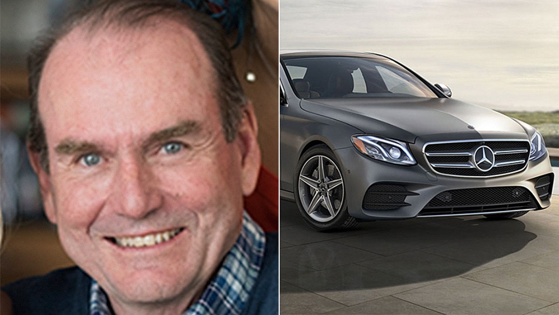"""Millionaire Democratic House candidate from Pennsylvania Scott Wallace drove a Mercedes E Class BlueTEC luxury sedan to a campaign event, despite saying he doesn't drive """"fancy cars."""""""