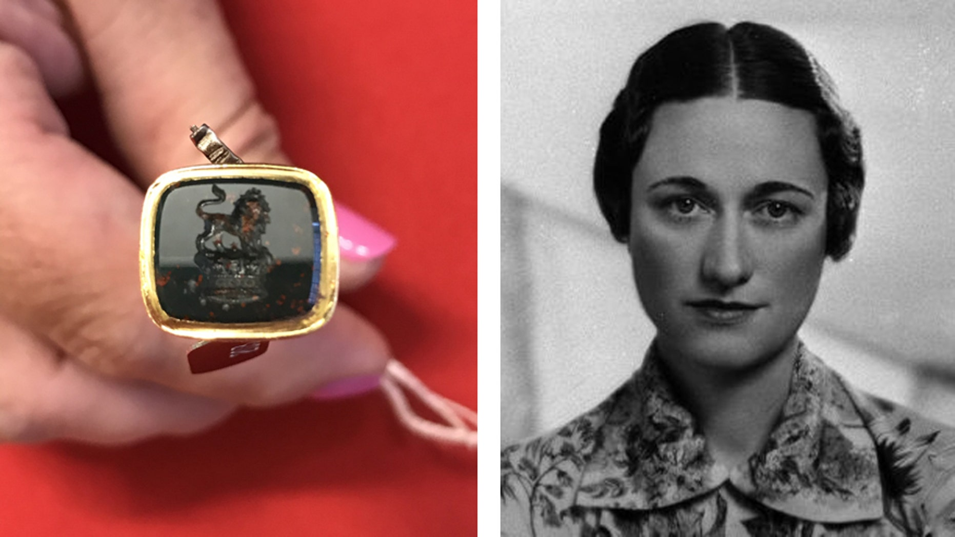 A number of personal items that once belonged to Wallis Simpson and King Edward VIII are up for auction.