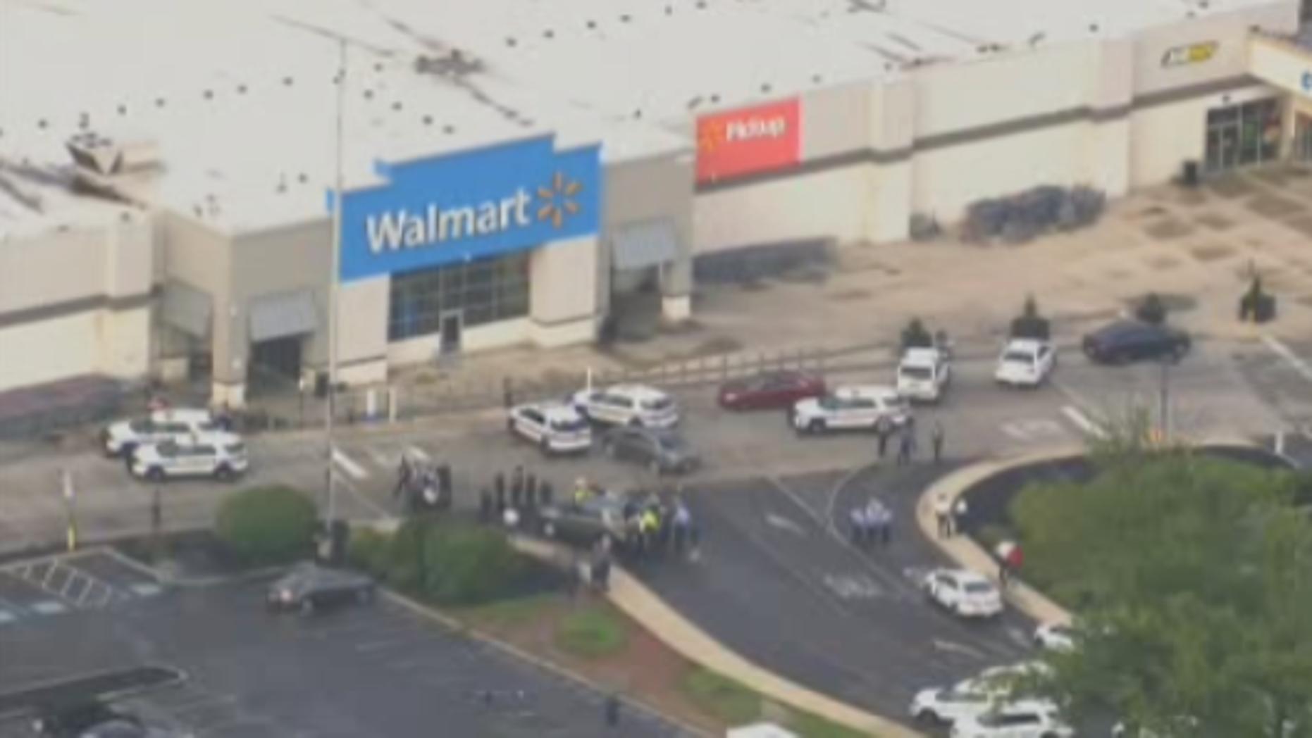 At least 5 shot inside Philadelphia-area Walmart, suspect in