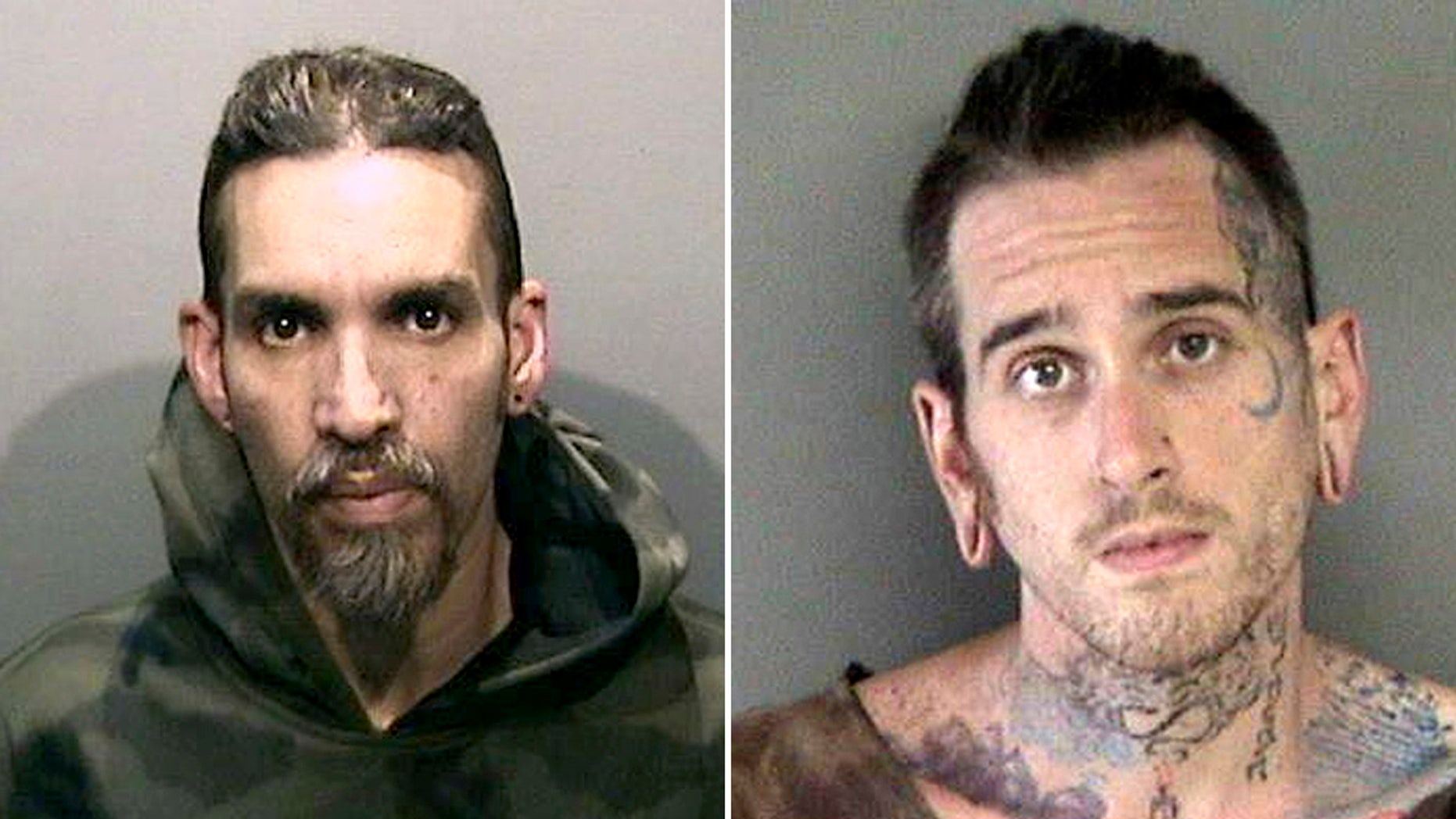 Derick Almena (left) and Max Harris (right) will go to trial in the deadly warehouse blaze.