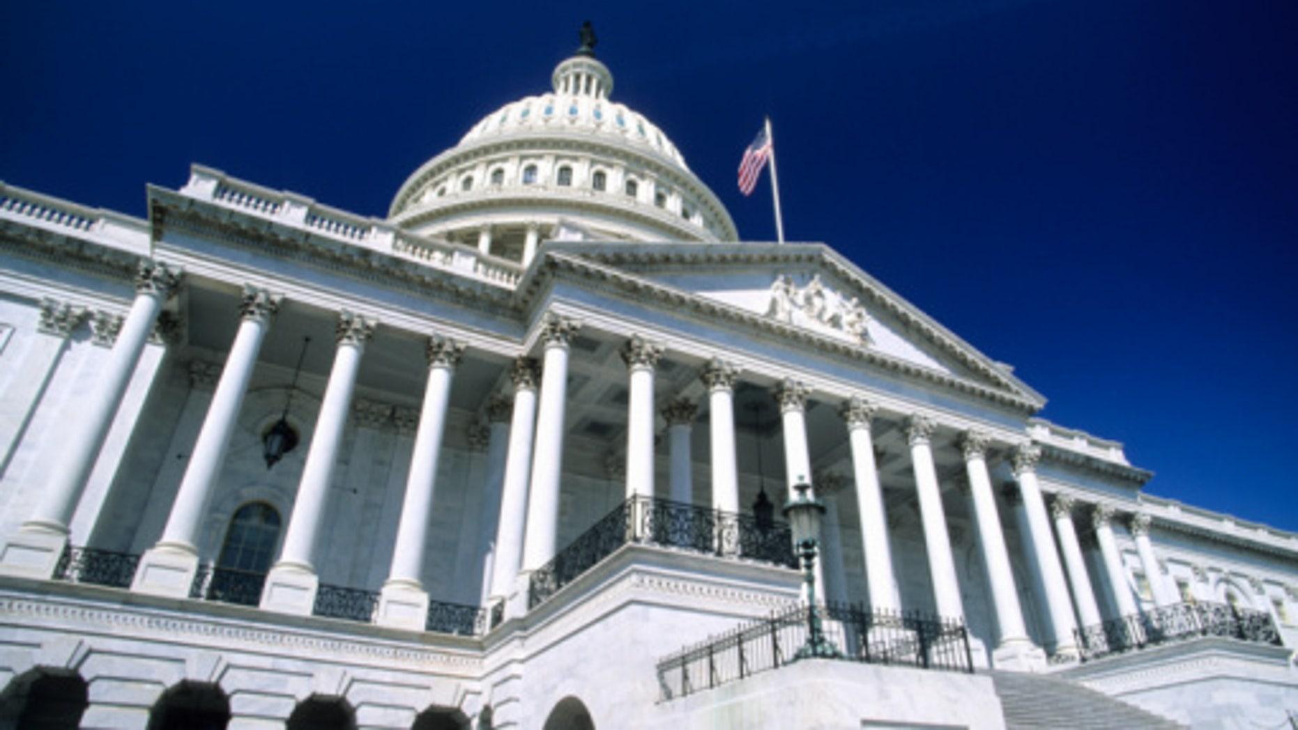 United States Capitol Building-Washington DC, USA
