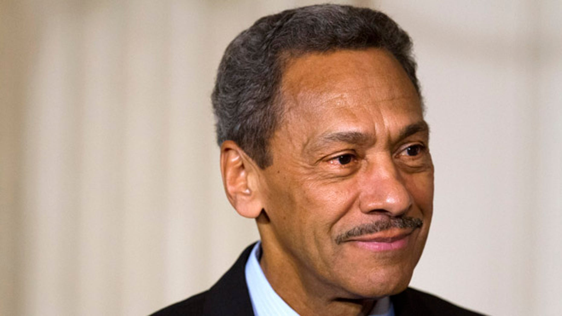May 1, 2013: Rep. Mel Watt, D-N.C., listens as President Obama announces Watt as his nominee for the Federal Housing Finance Agency.