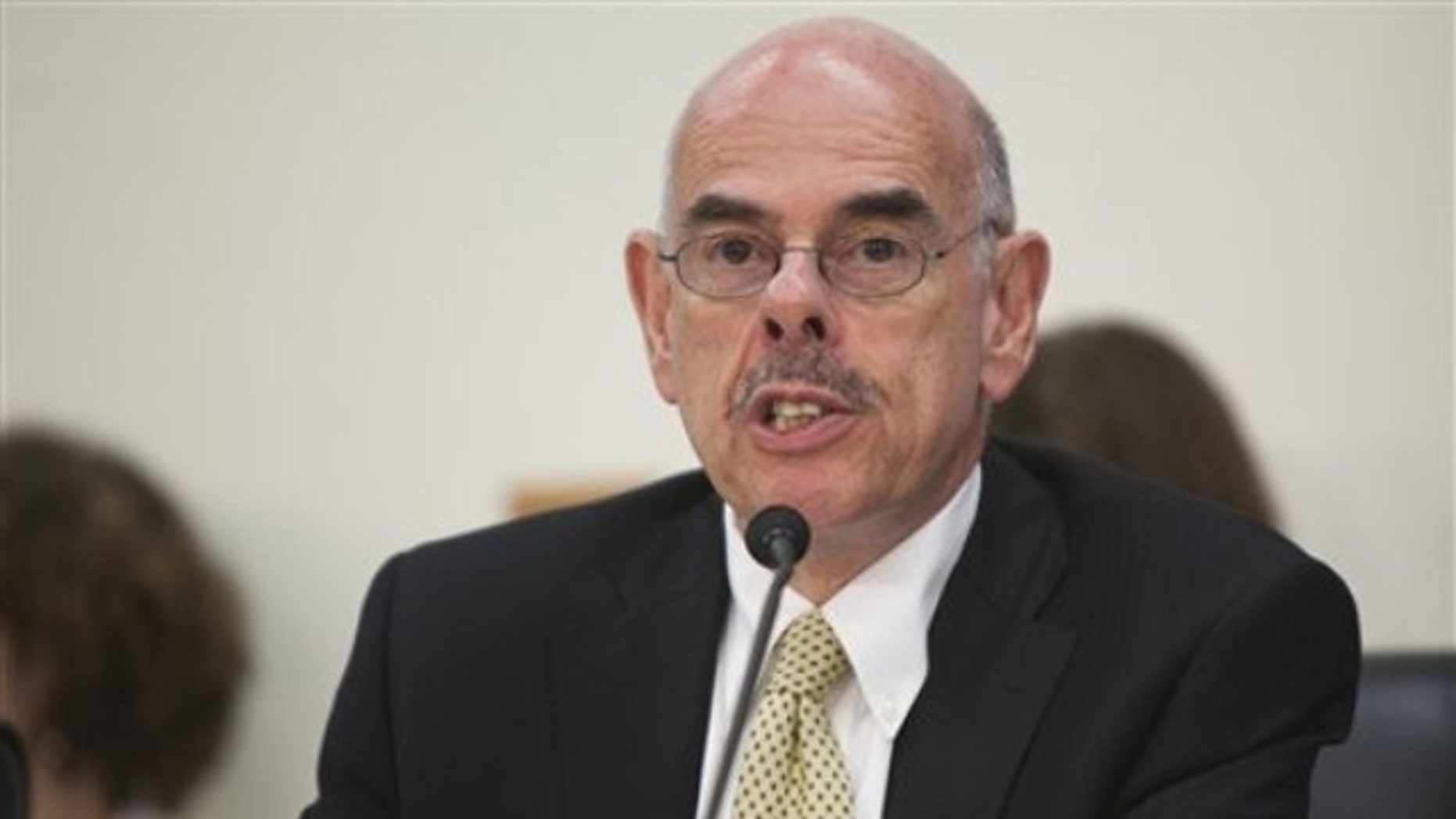 In this May 6, 2010, file photo, Rep. Henry Waxman speaks on Capitol Hill in Washington.
