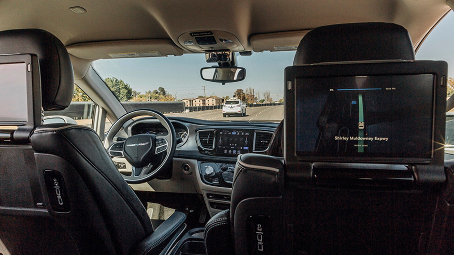 The Waymo Chrysler Pacifica is capable of fully autonomous driving.