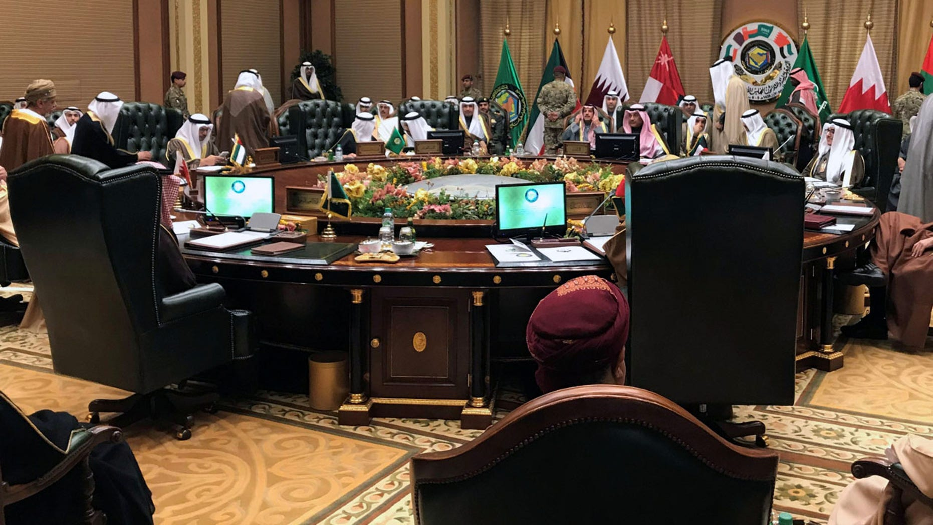Dec. 4: Foreign Ministers of the Gulf Cooperation Council (GCC) attend a meeting in Bayan Palace, in Kuwait City