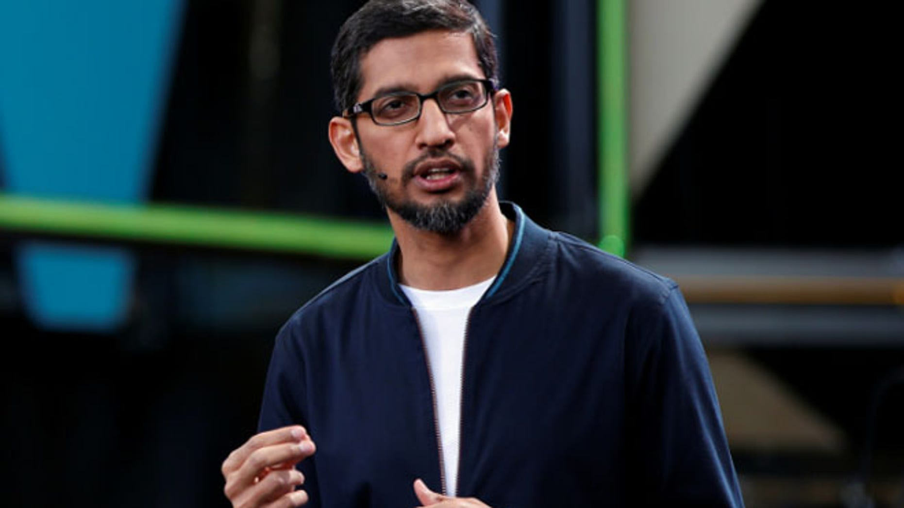 Google's CEO wrote a memo to staffers that it is 'painful' to see the personal cost of President Trump's order on our colleagues.