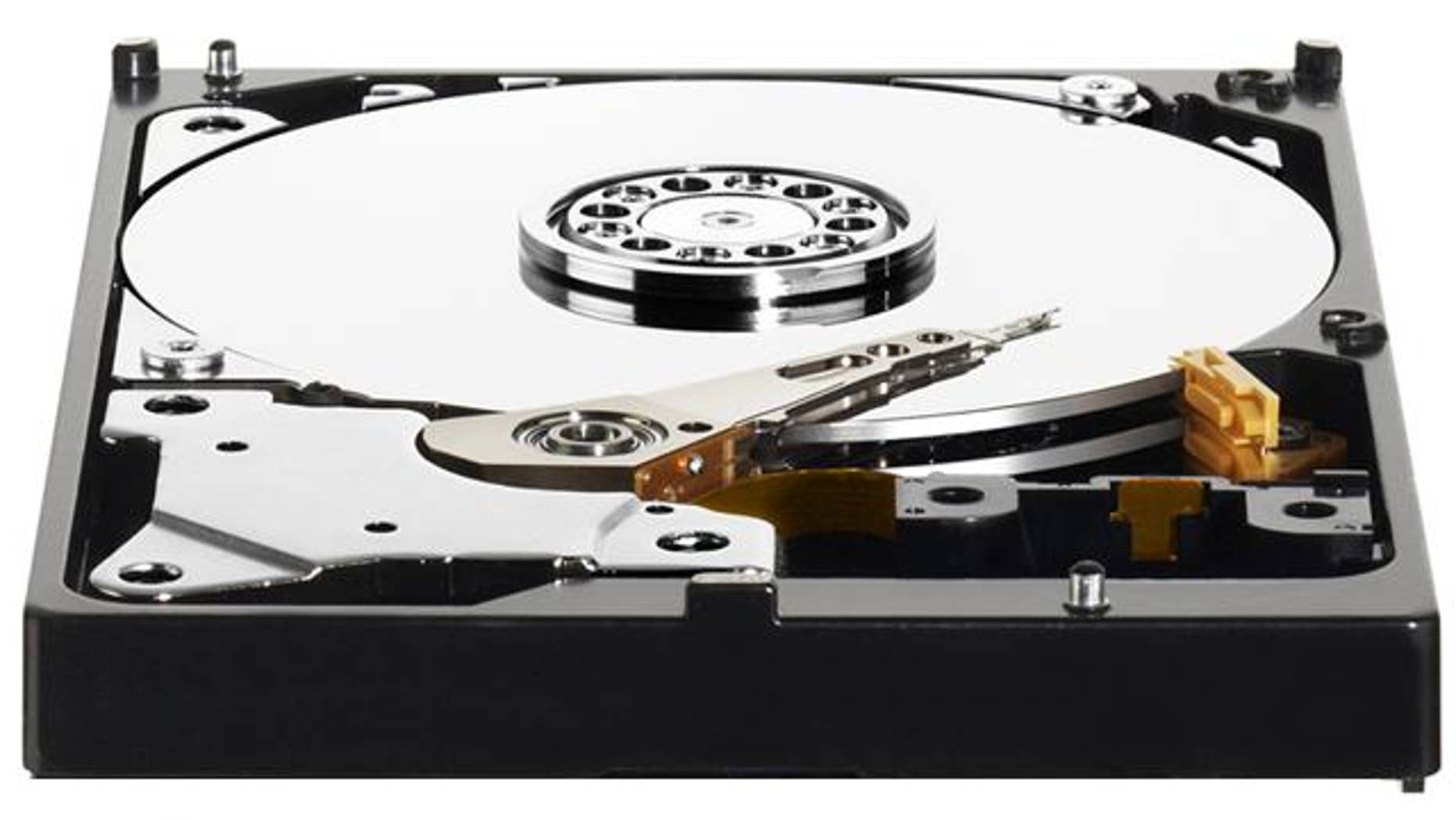 The Caviar Green hard disk drive from Western Digital.