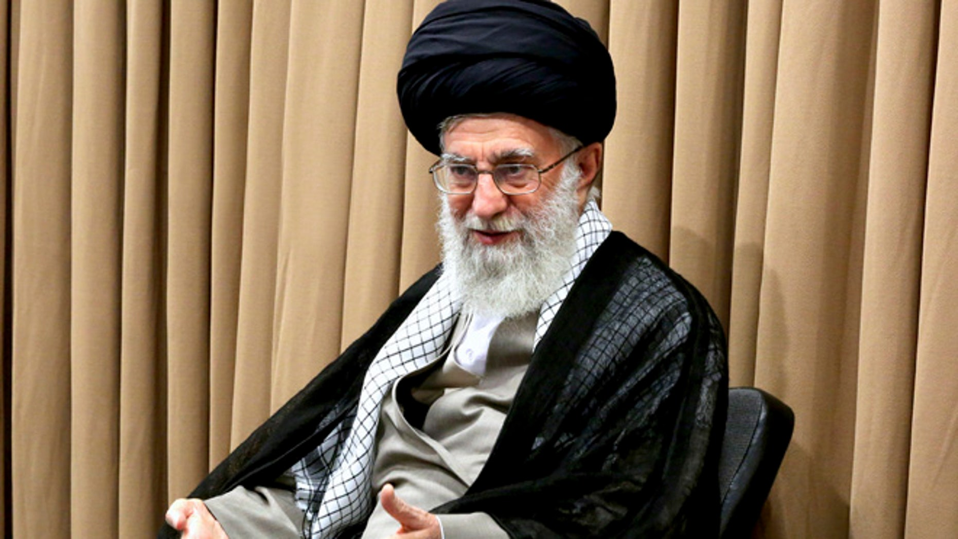 "Supreme Leader Ayatollah Ali Khamenei said, ""We do not violate the deal, but if the other party violates it, if they tear the agreement up, we will light it on fire,"" Khamenei said in remarks published on his official website. Khamenei has the final say on all major issues in Iran."""