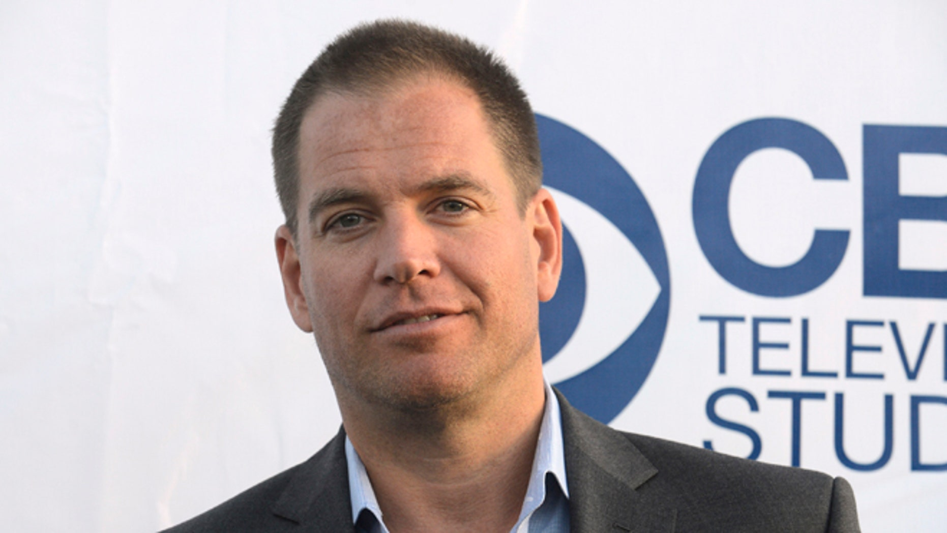 """May 19, 2014. Michael Weatherly attends the CBS Television Studios """"Summer Soiree"""" in West Hollywood."""