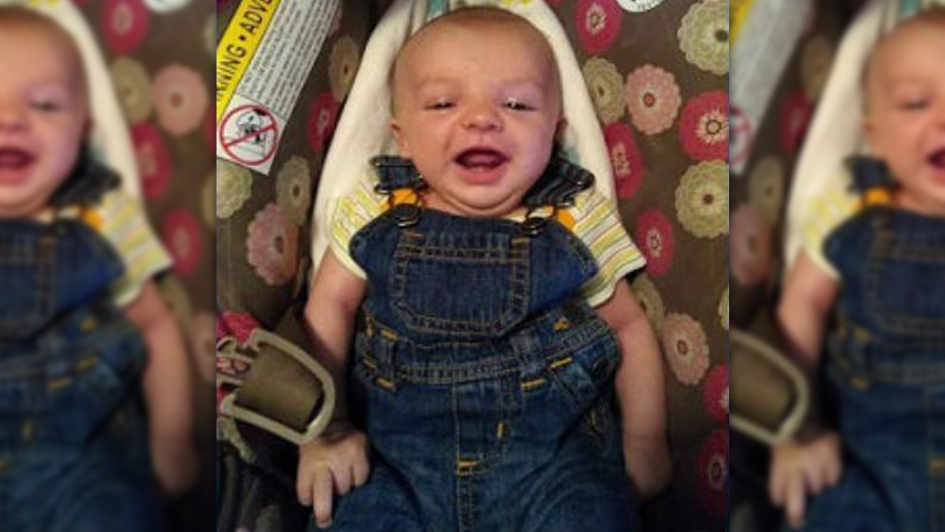 Missing 4-month-old Tyr Lange was found dead Saturday in central North Dakota.