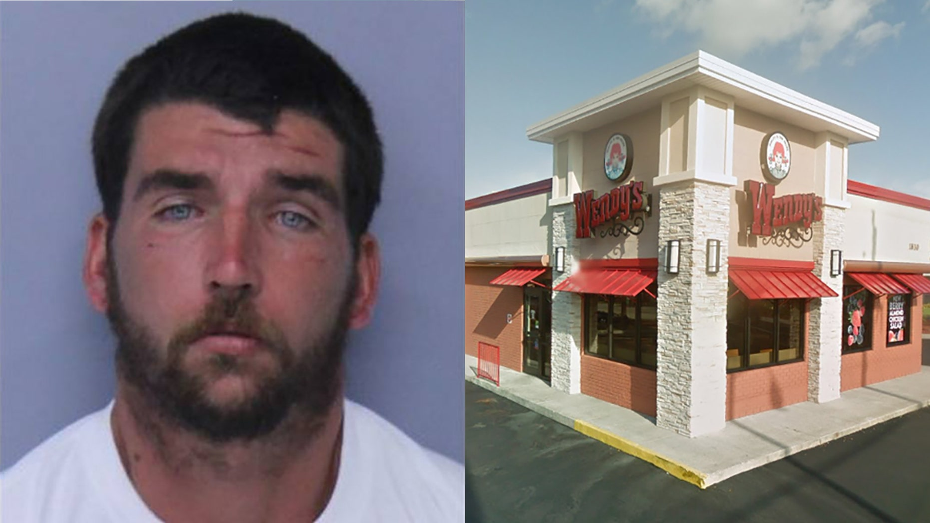Timothy Weber, 31, was arrested following a standoff on the roof of a Wendy's in St. Augustine, Fla.