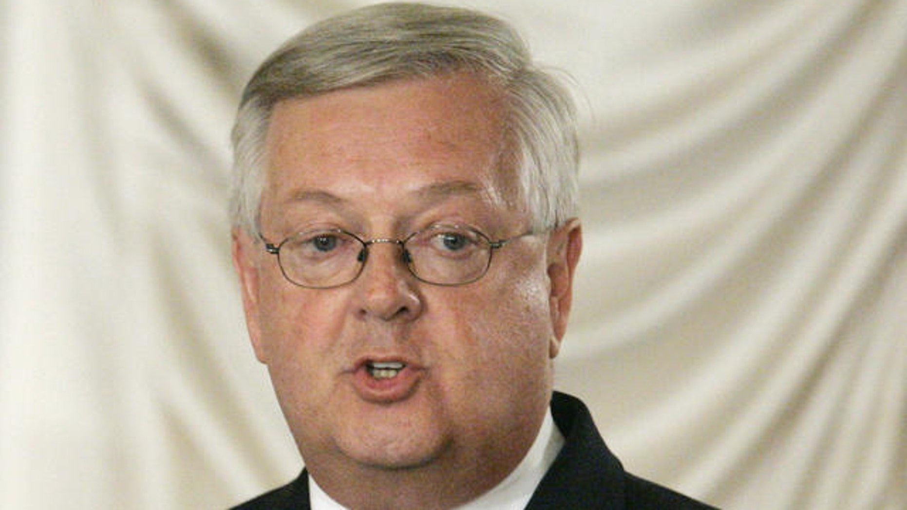 Shown here is former Rep. Curt Weldon.