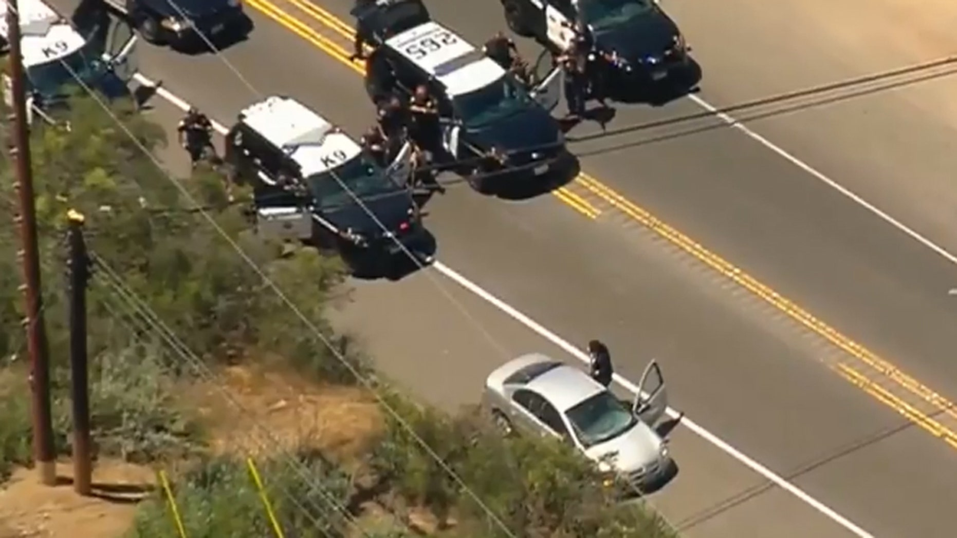 Well-dressed motorist leads police on chase through San