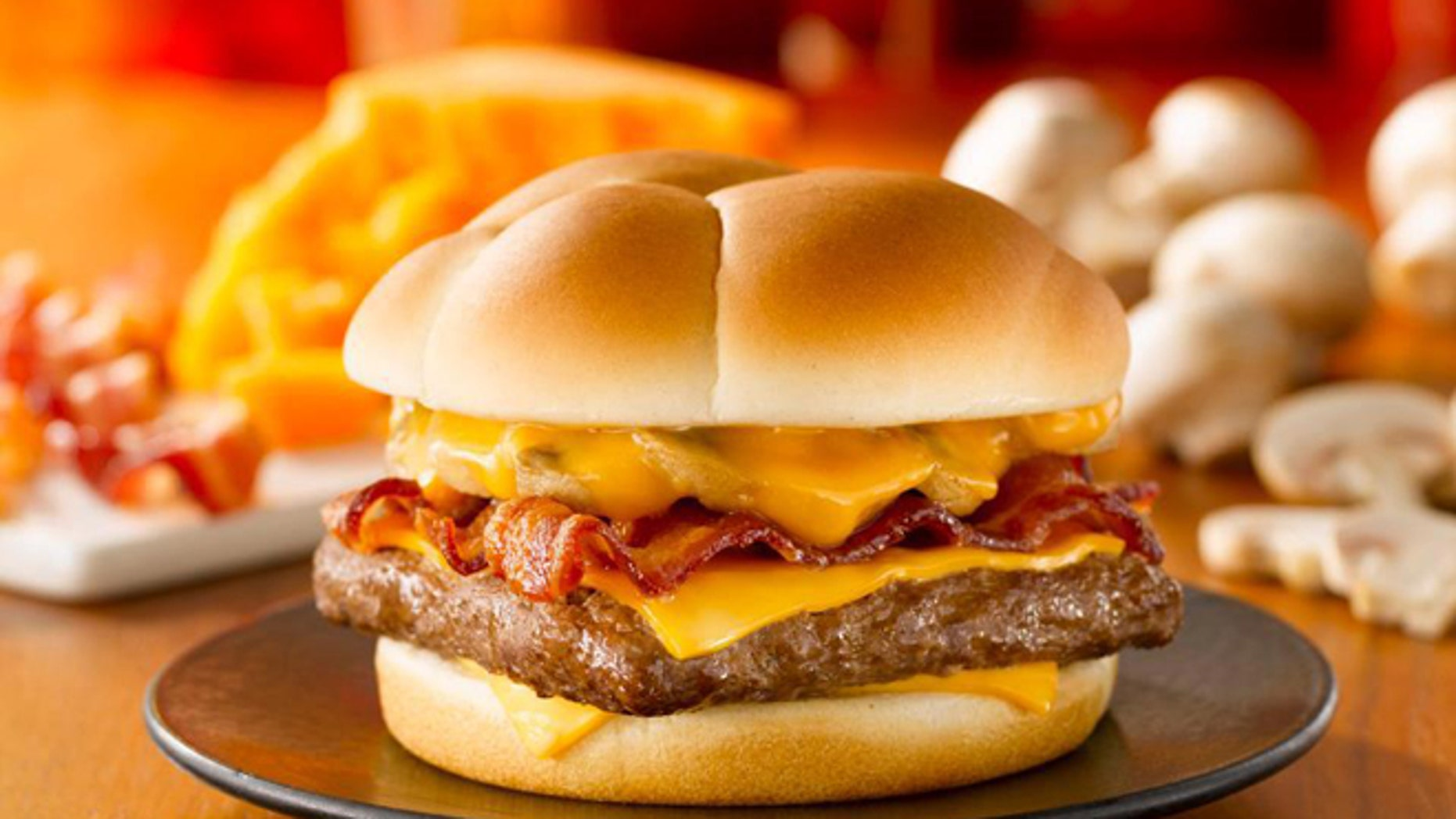 Wendy's new Bacon Portabella Melt