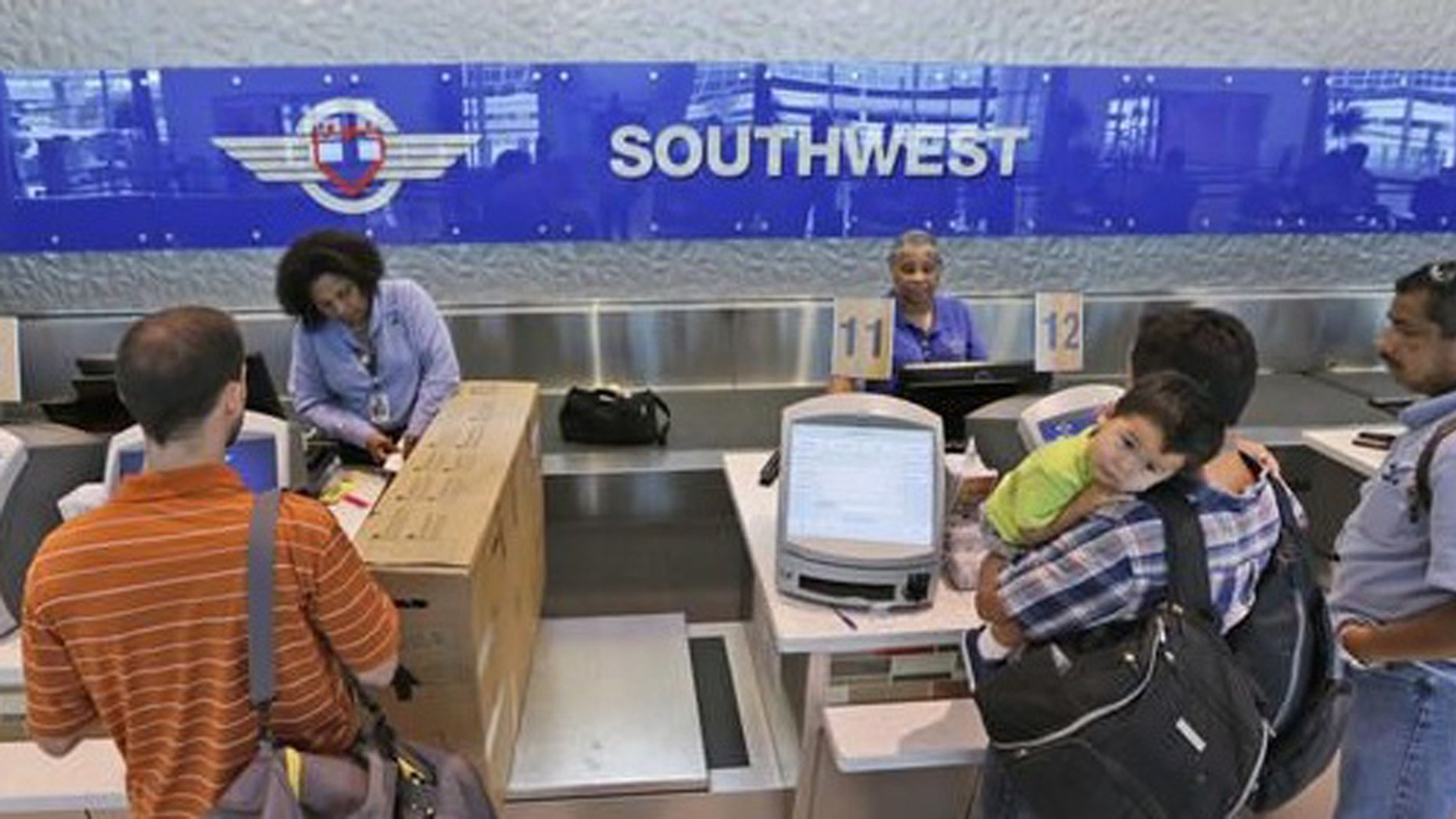 Has Southwest lost one of your bags?