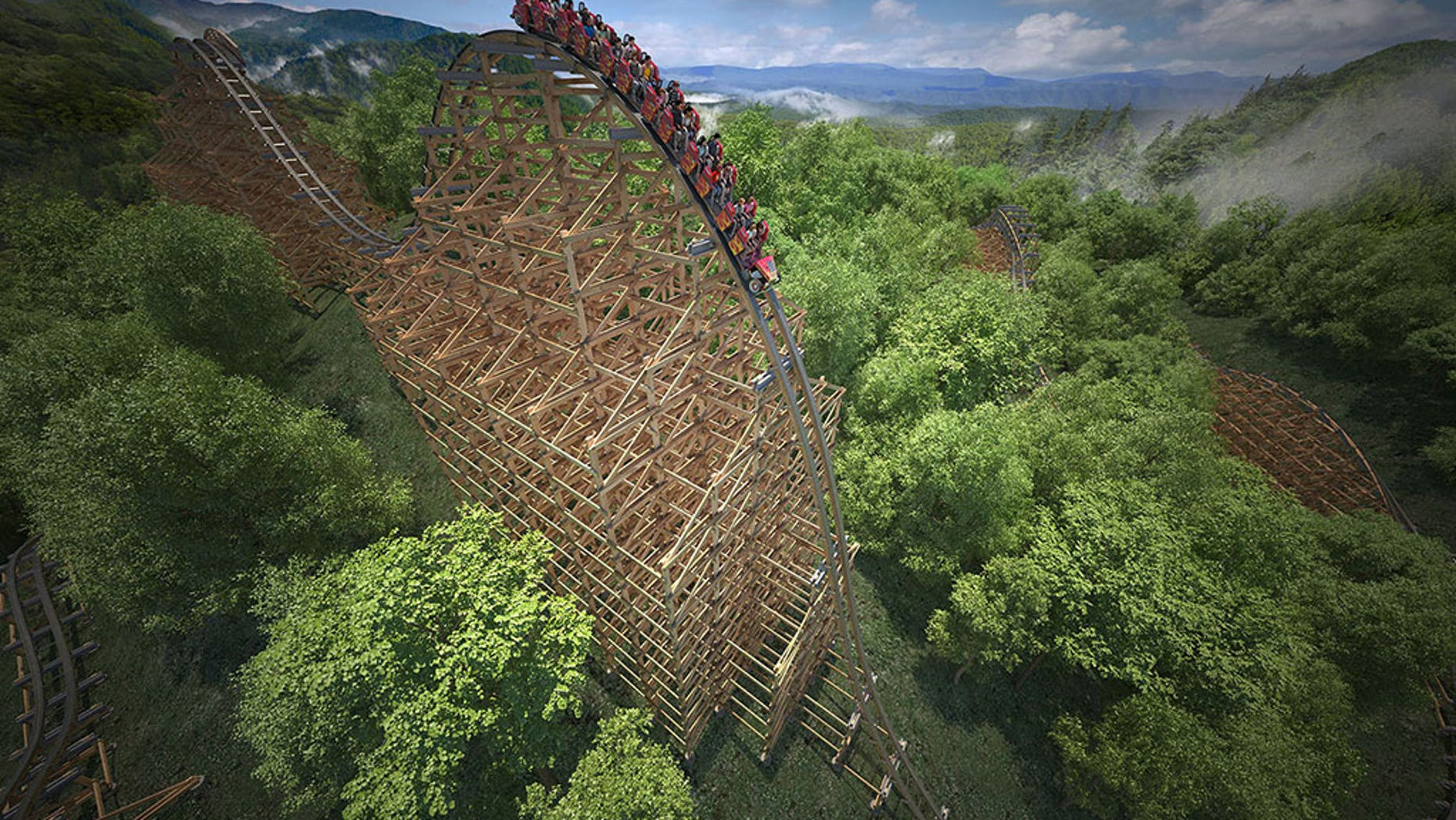 Dollywood To Open Worlds Fastest Wooden Roller Coaster In 2016