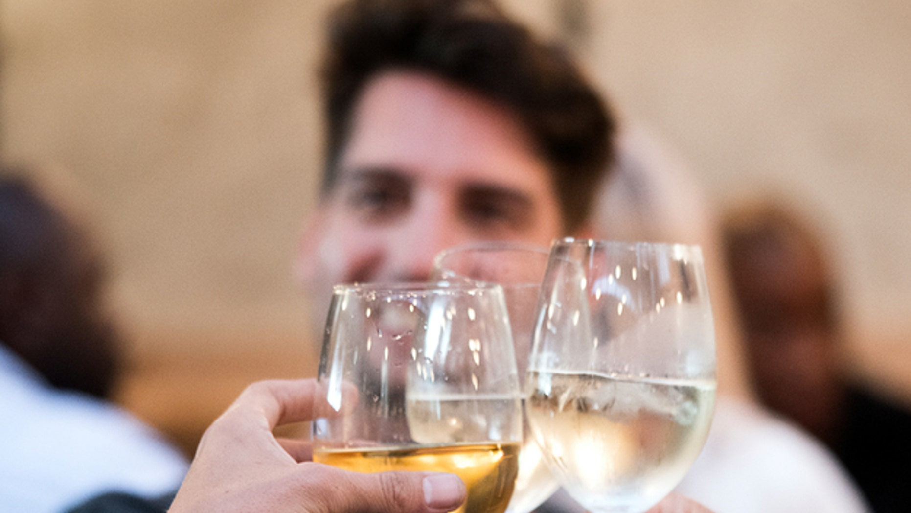Don't want to get tipsy? Avoid using a bigger glass.