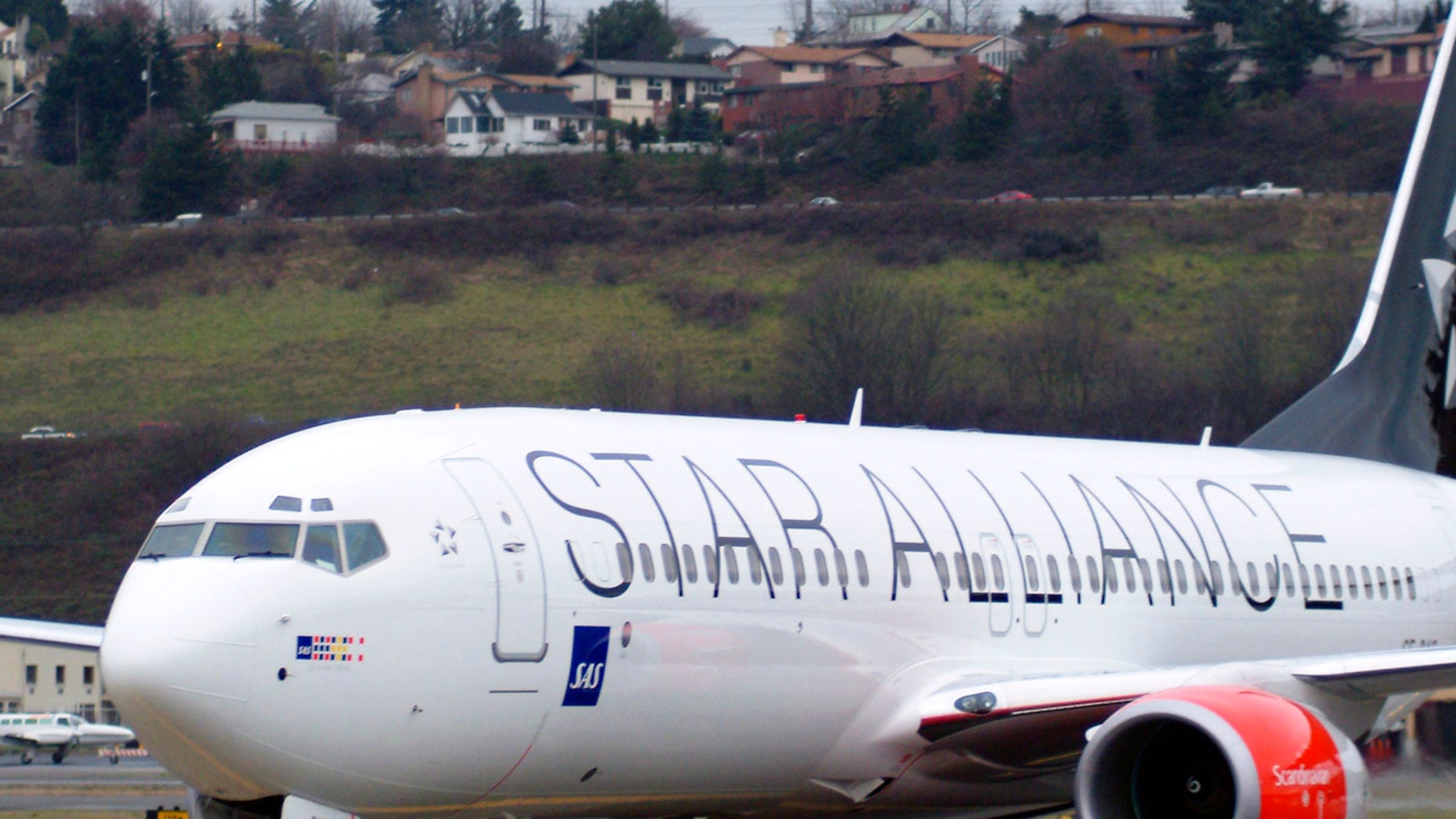 A Star Alliance plane was forced to make an emergency landing over the weekend.