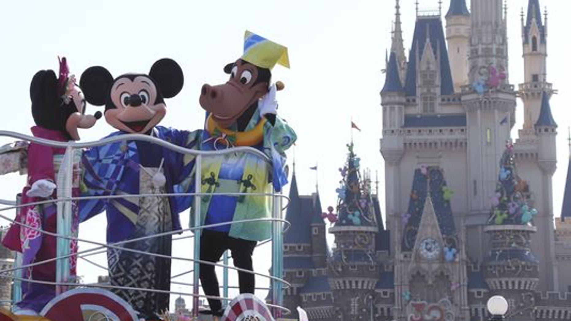 Walt Disney Japan has apologized for an insensitive tweet.