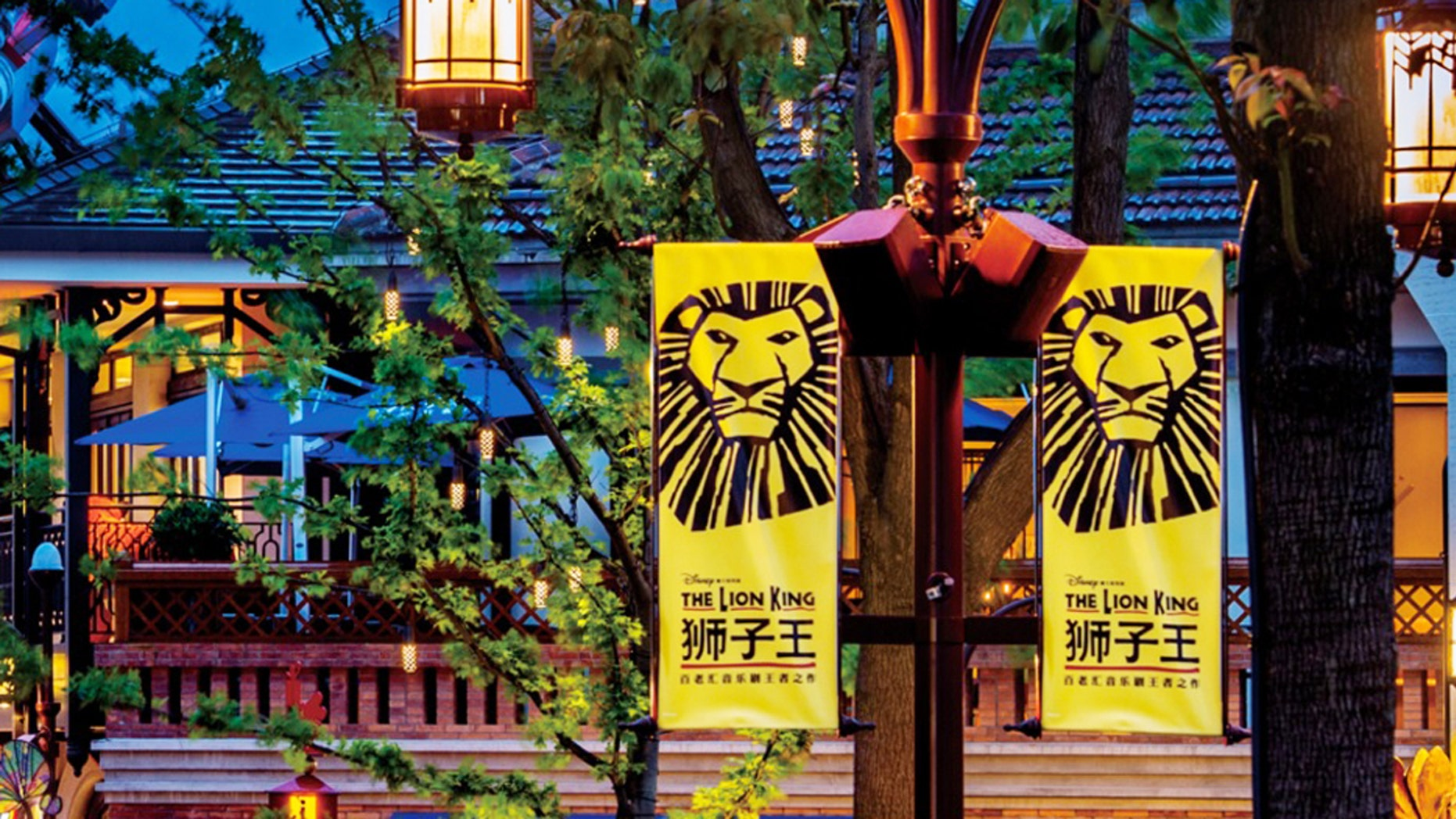 """A live-action stage production of the """"The Lion King"""" will be one of the park's signature attractions."""