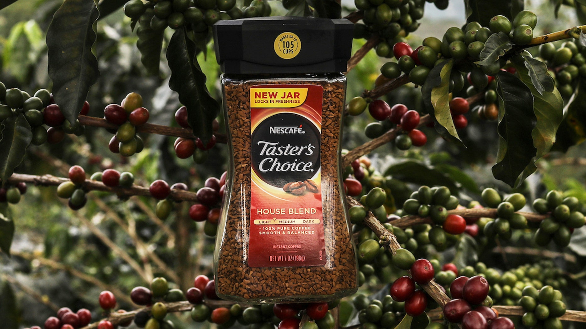 Nescafe is the world's largest producer of instant coffee crystals.