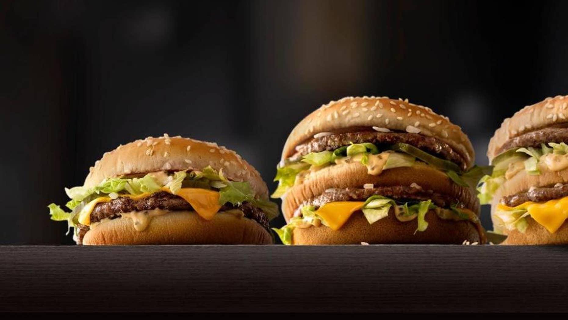 McDonald's is testing fresh beef patties in its bigger burgers.