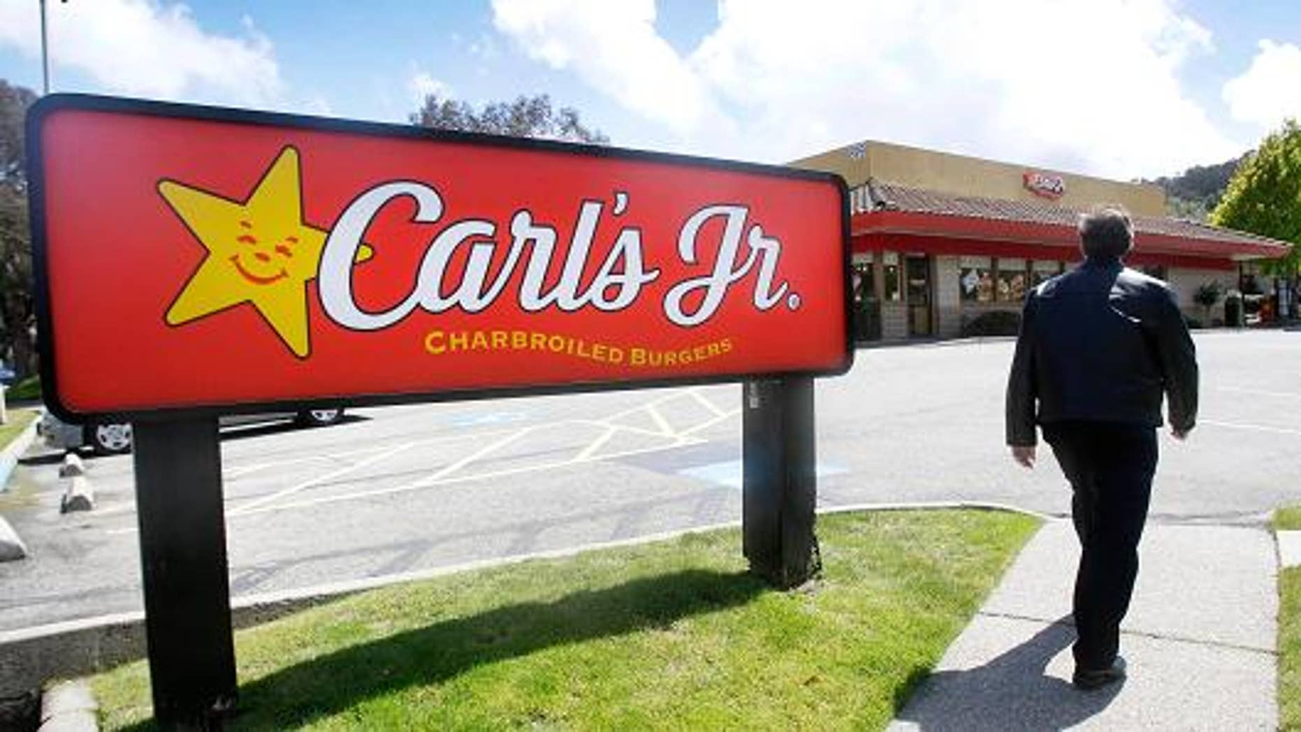 Carl's Jr may no longer be staffed by humans in the not-too-distant future.