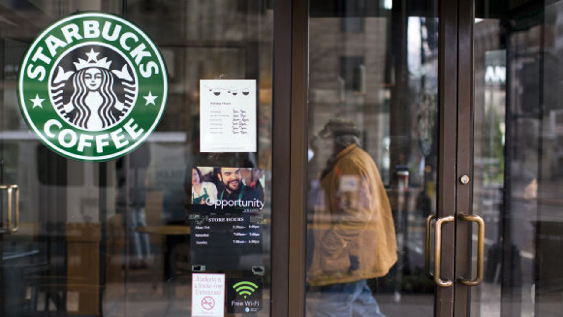 A five year old boy uncovered a hidden cell phone camera in a woman's restroom at Starbucks.