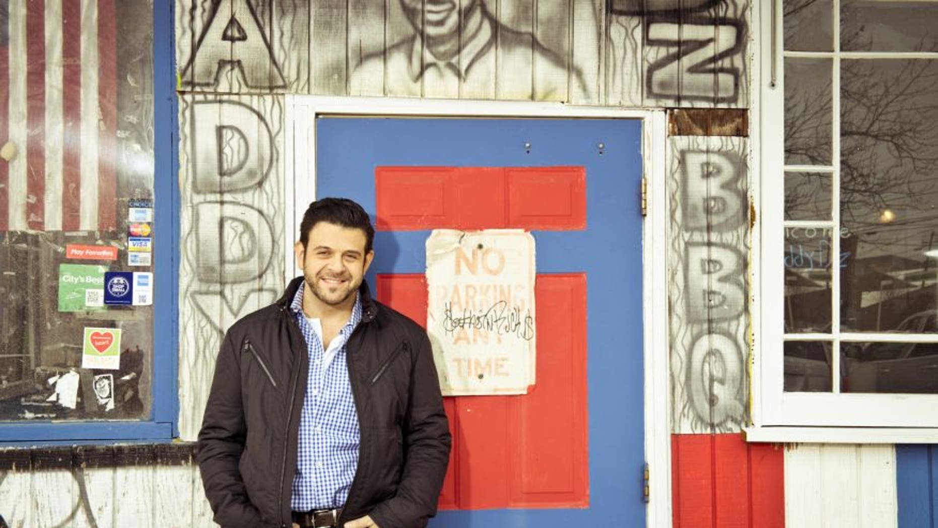 Adam Richman has taken to Twitter once again to set the record straight about his diet.