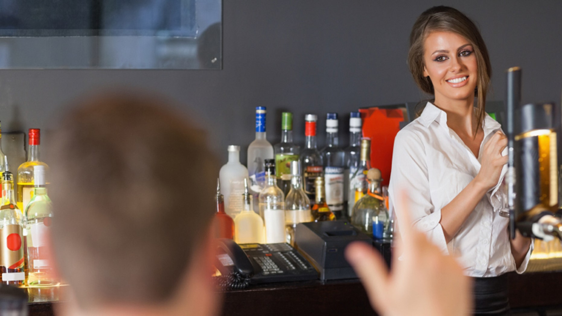 Don't bug your waitress with a snarky pick-up line.