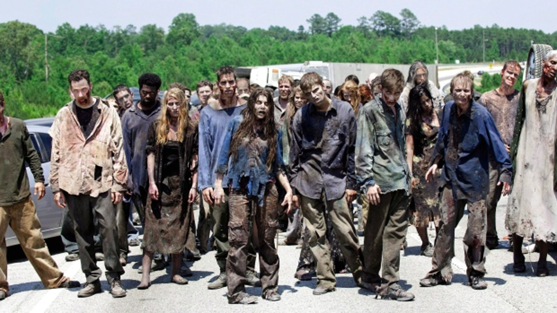 "You could join a herd of real life ""Walking Dead"" zombies."