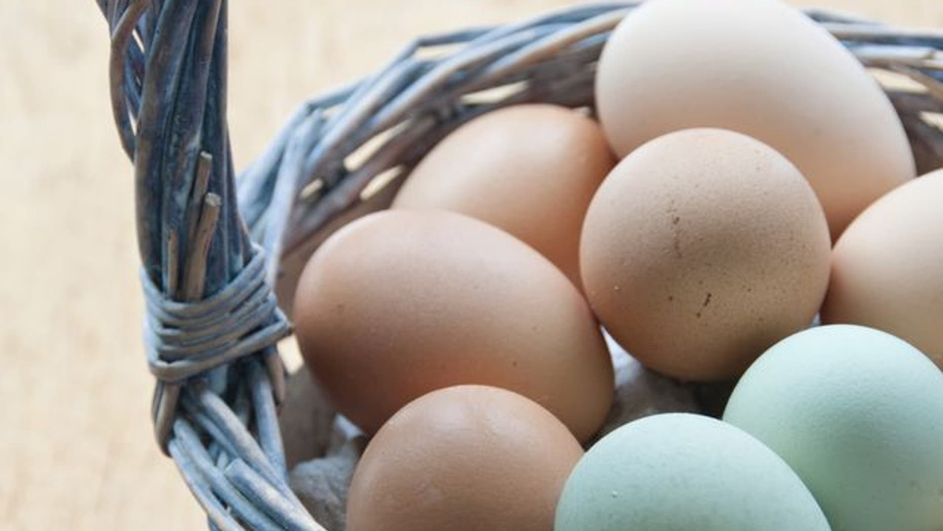 One farmer is out dozens of natural pastel-colored eggs just before Easter after a massive chicken theft.