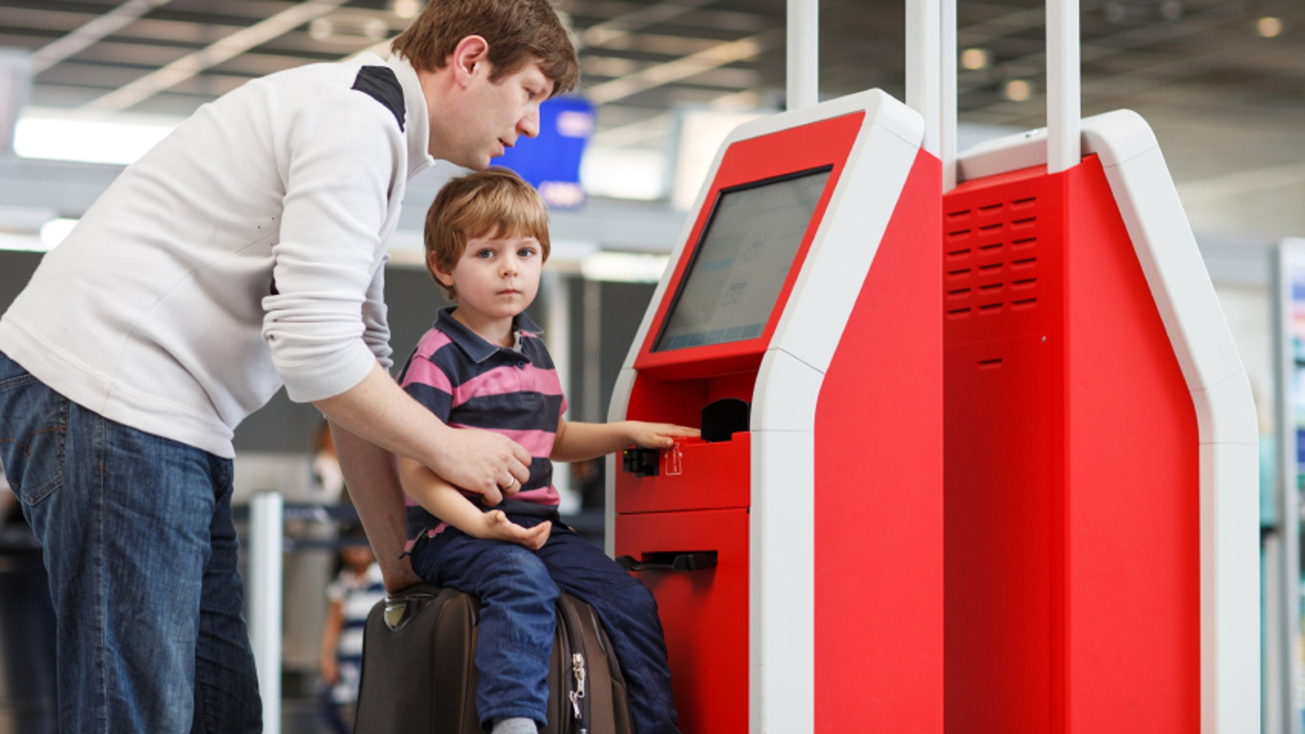 Flying without kids may be less stressful with a little outside help.