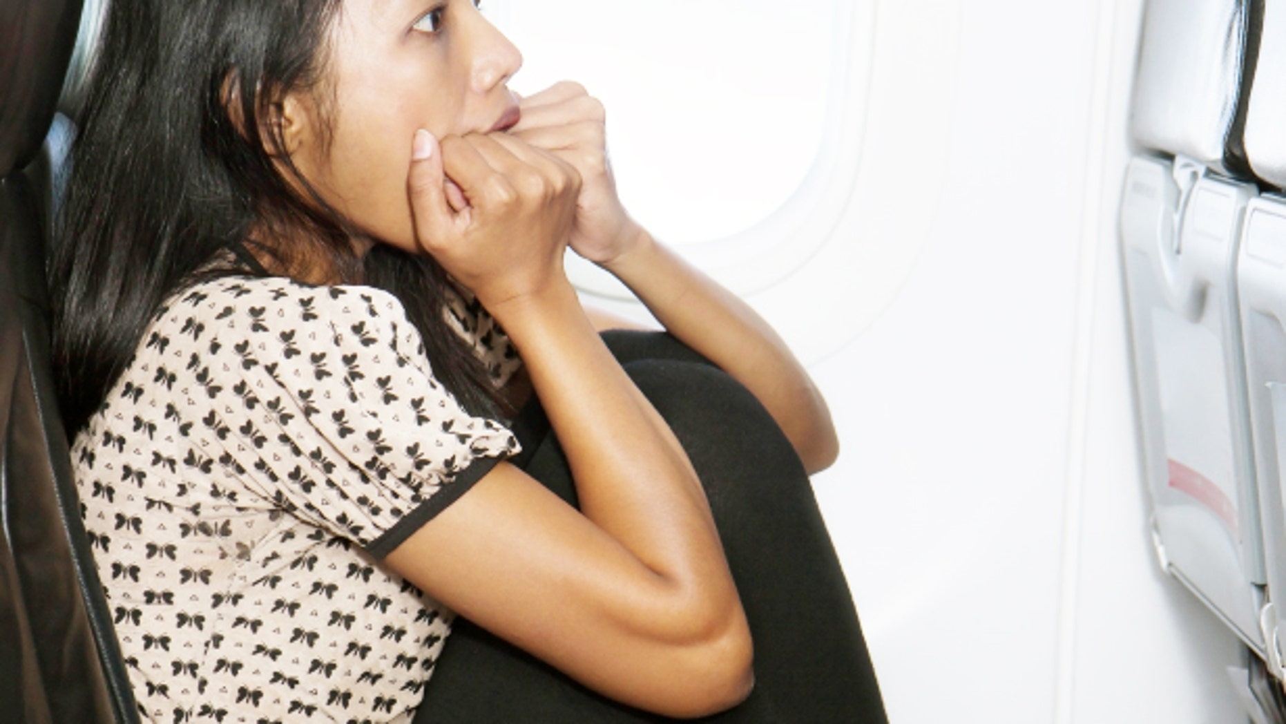 Are you a nervous wreck when flying?