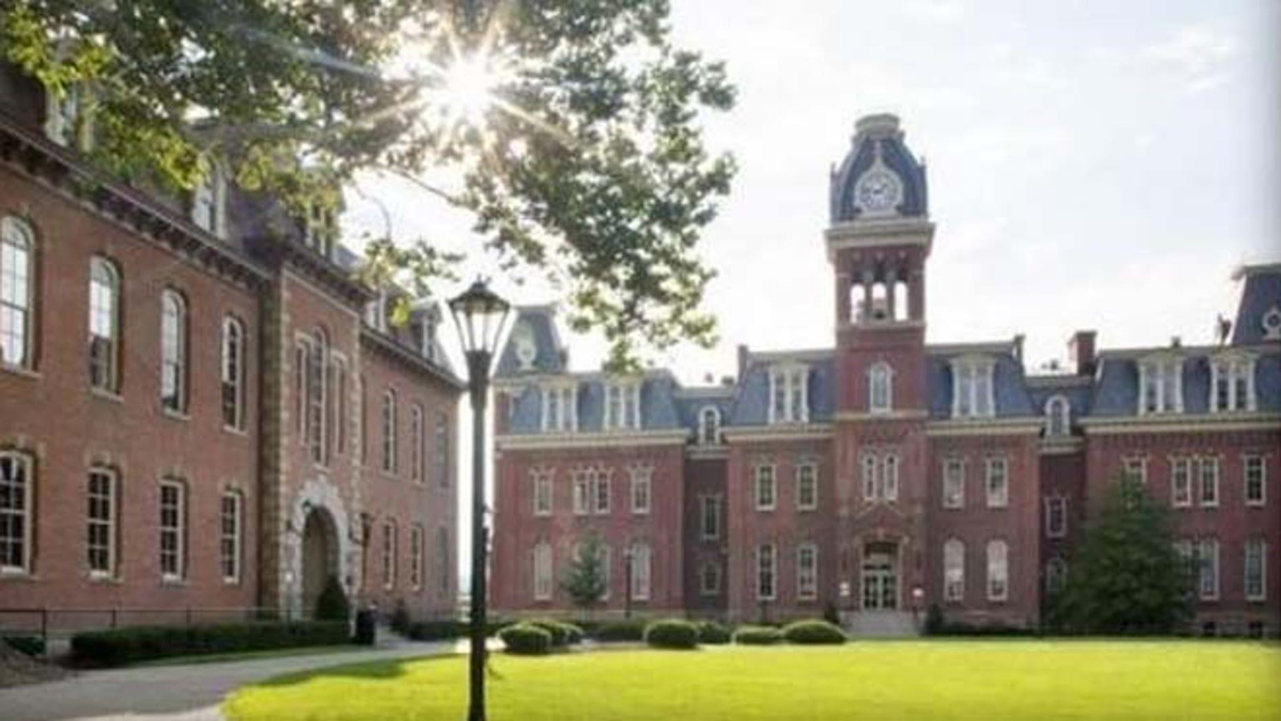 West Virginia University's campus in Morgantown.