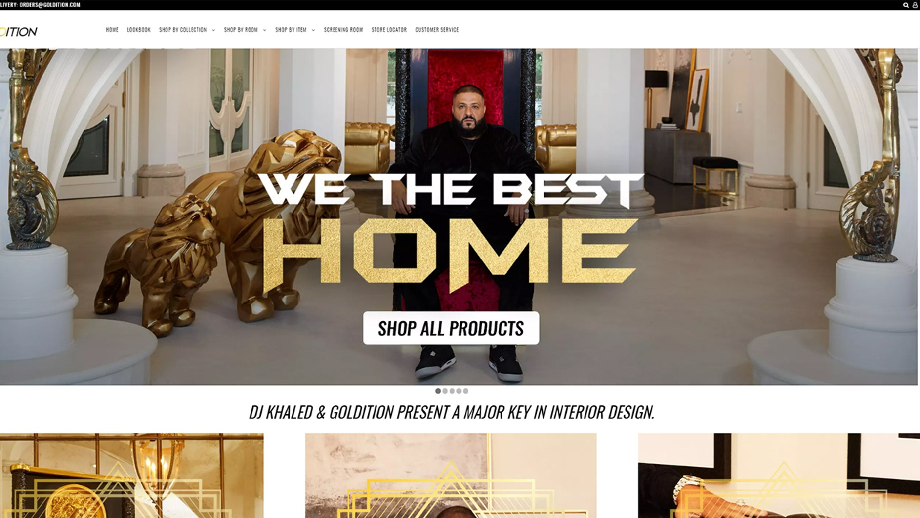 The first offerings from DJ Khaled's We the Best Home furnishings collection are currently available for purchase.