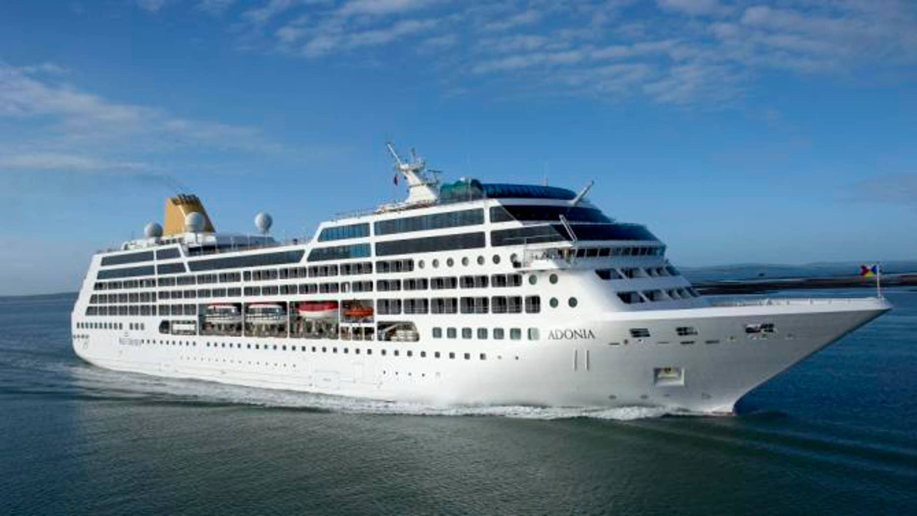 The 704passenger Adonia ship will start sailing from Miami to Cuba May 1, 2016.