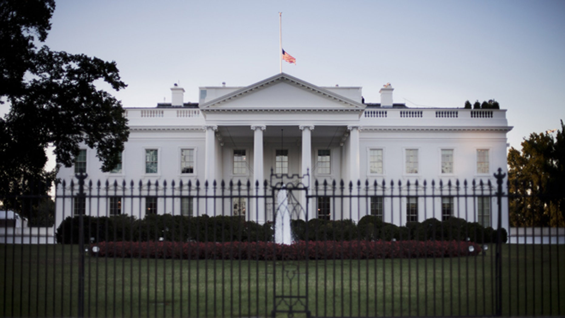 The White House is shown on Sept. 17, 2013.