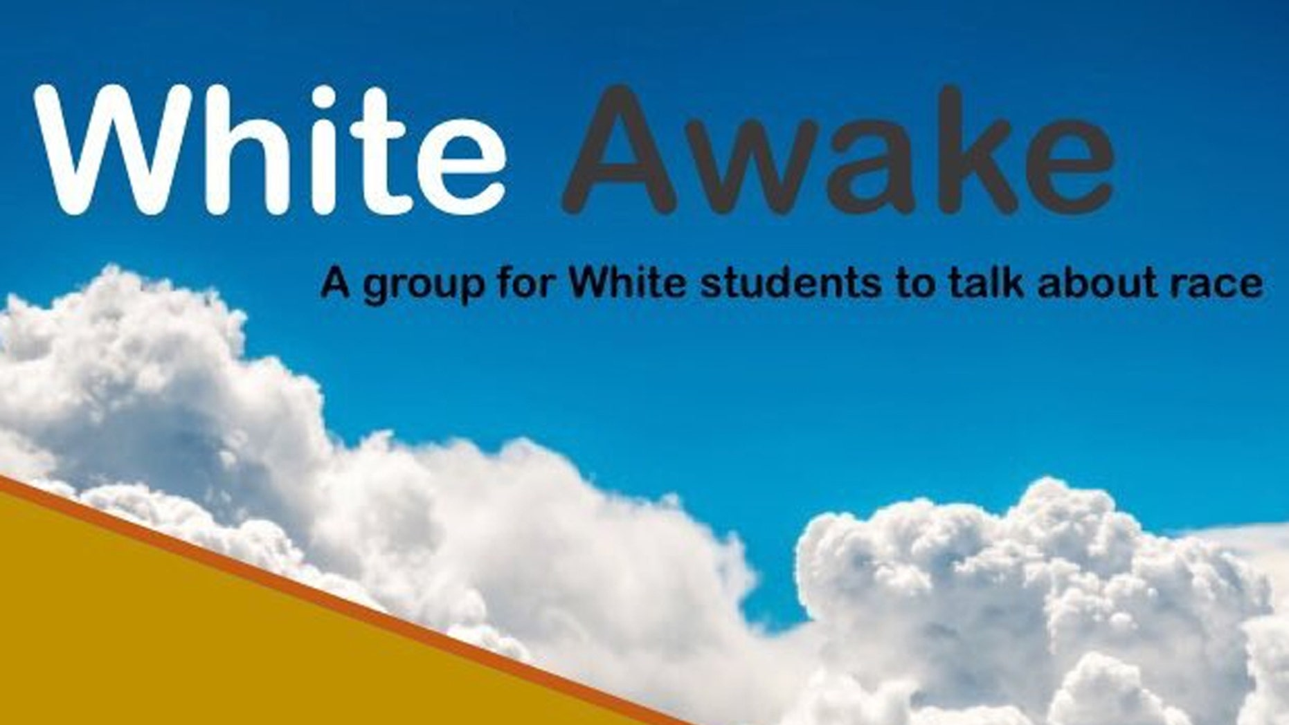 """The University of Maryland's Counseling Center received backlash after they started a group called """"White Awake"""" as a """"safe space for white students"""" to discuss race on campus."""