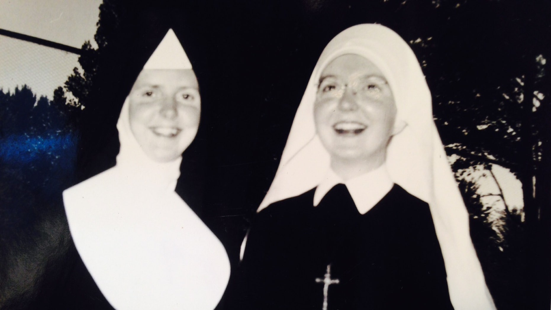 The author's mother Anne Diener Pflum, left, while she was a Catholic nun. (Courtesy of Mary Pflum Peterson)